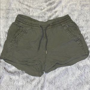Women's size 2 army green soft shorts